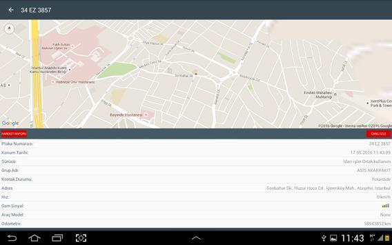 Neofilo Araç Takip Sistemi screenshot 9
