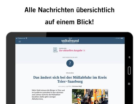 volksfreund apk screenshot