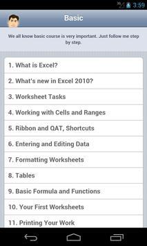 Mastering Excel 2010 screenshot 1