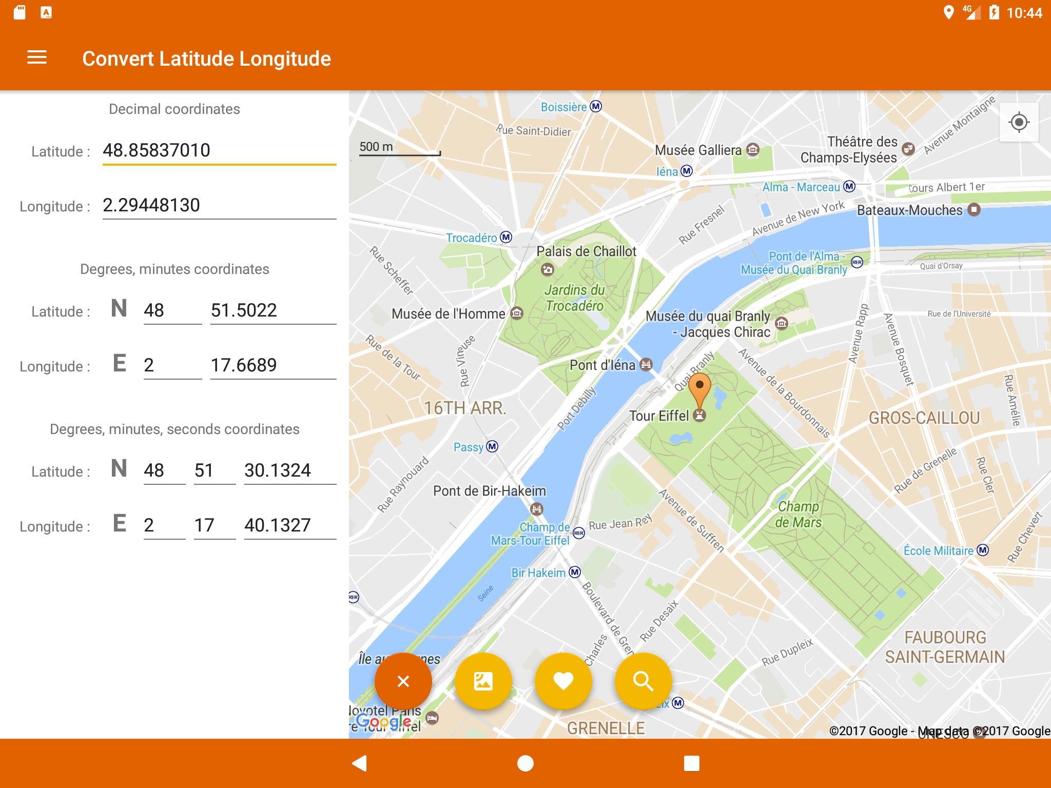 Latitude Longitude Convert for Android - APK Download