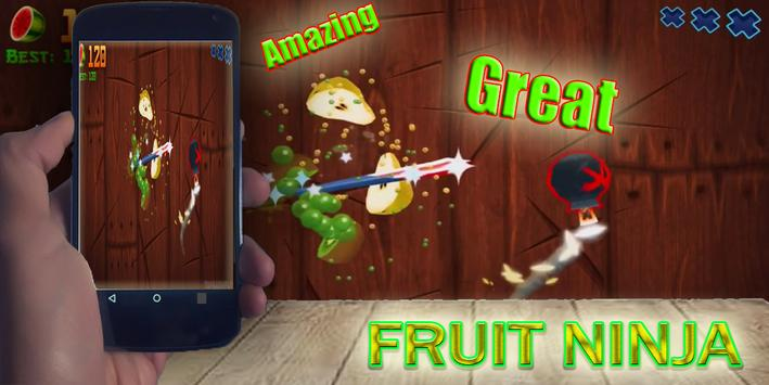Tips Fruit Ninja poster
