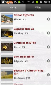 Les Vins du Valais screenshot 3