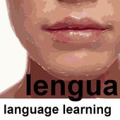 lengua language learning icon