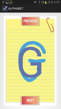 ENGLISH ALPHABET NOTE Lite apk screenshot