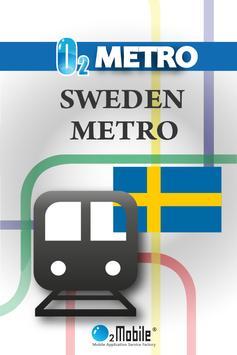 SWEDEN METRO poster