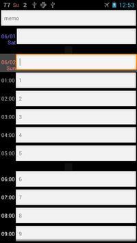 26 Hours Notebook screenshot 2