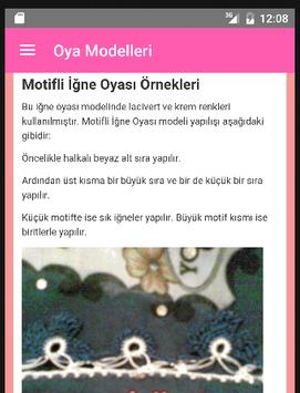 Oya Modelleri apk screenshot