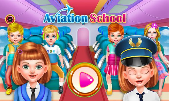 Aviation School poster