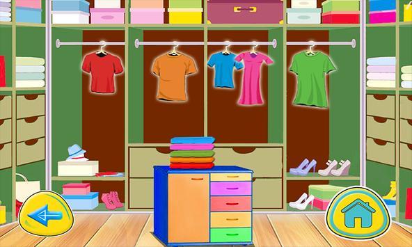 Ironing dresses girls games screenshot 4