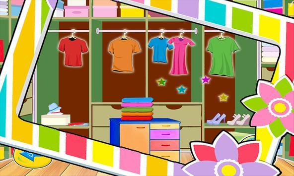 Ironing dresses girls games screenshot 5