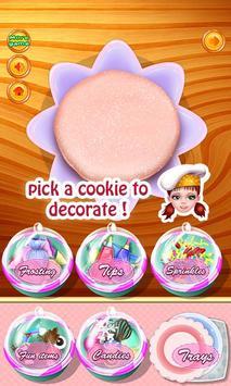 ... Sweet Cookies Cooking Games apk screenshot ...
