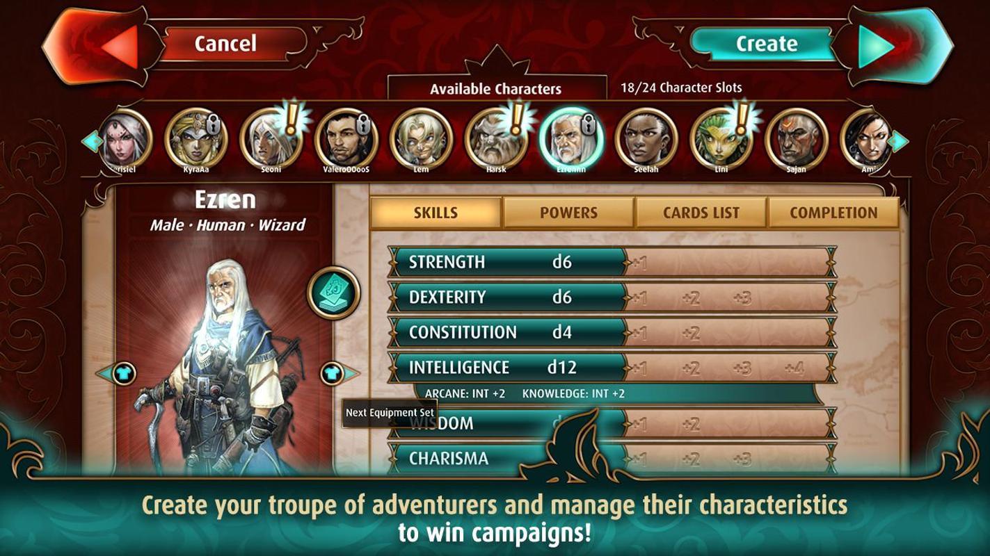Pathfinder Adventures apk screenshot
