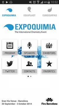 Expoquimia poster