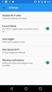 Wi-Fi Toggler apk screenshot