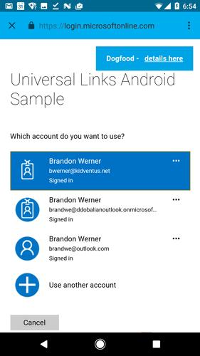 Universal Links for Azure (Unreleased) for Android - APK Download