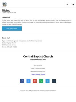 Central Baptist Church screenshot 5