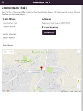 Baan Thai 2 Take Away and Eat In in Burgess Hill screenshot 11