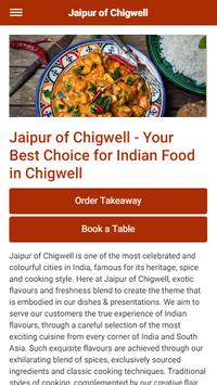 Jaipur of Chigwell Indian Restaurant & Takeaway poster