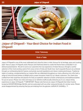 Jaipur of Chigwell Indian Restaurant & Takeaway screenshot 10