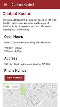 Kasturi Indian Restaurant in Leytonstone poster