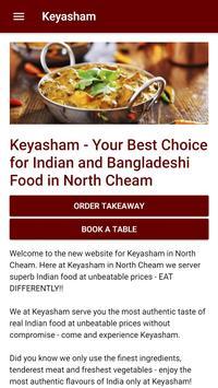 Keyasham Indian Restaurant in North Cheam screenshot 1