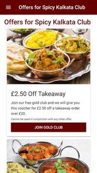 Spicy Kalkata Club Restaurant in Gloucester poster