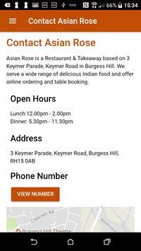 Asian Rose Indian Restaurant & Takeaway screenshot 1