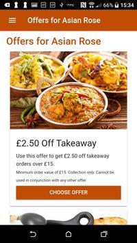 Asian Rose Indian Restaurant & Takeaway screenshot 2