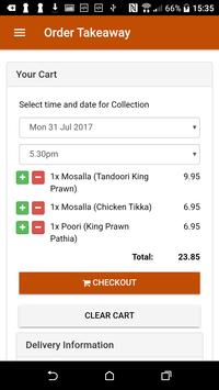 Asian Rose Indian Restaurant & Takeaway screenshot 4