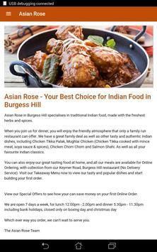 Asian Rose Indian Restaurant & Takeaway screenshot 6
