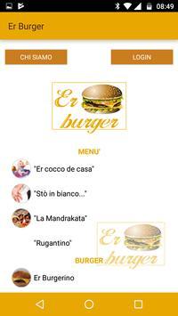 Er Burger Nomentana poster