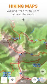 Maps & GPS Navigation — OsmAnd apk تصوير الشاشة