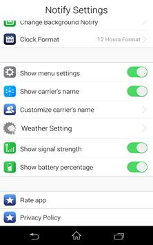 iNotify : iNoty OS 10, OS X screenshot 1