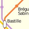 Métro 01 (Paris) icono