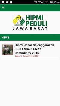 HIPMI Peduli Jabar poster