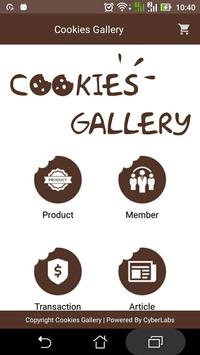 BCS Cookies Gallery poster