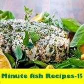 15-Minute fish Recipes icon