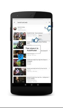 AudioPocket apk screenshot