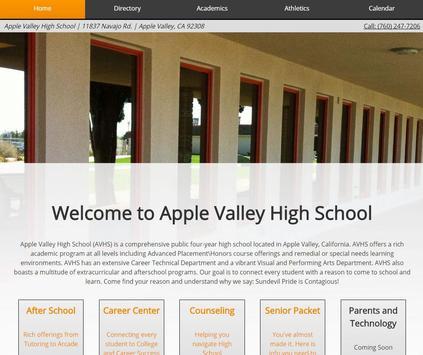 Apple Valley High School apk screenshot