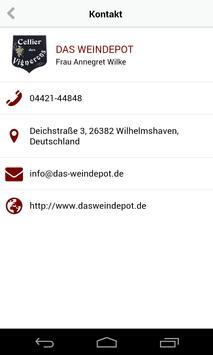 DAS WEINDEPOT apk screenshot
