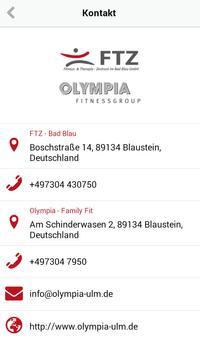 Olympia Fitnessgroup apk screenshot