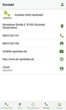 Andreas Hofer Apotheke apk screenshot