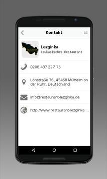 Restaurant Lezginka apk screenshot