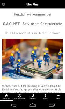 S.A.C. NET poster