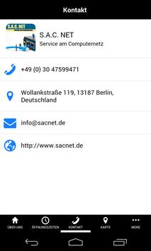 S.A.C. NET apk screenshot