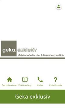 geka.exklusiv poster