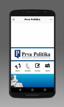 Prva Politika poster