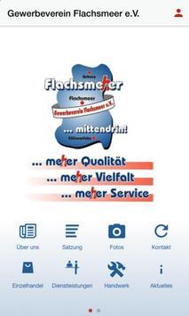 Gewerbeverein Flachsmeer e.V. poster