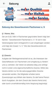 Gewerbeverein Flachsmeer e.V. apk screenshot
