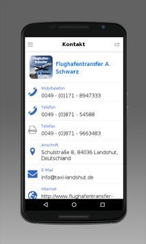 Flughafentransfer Schwarz screenshot 3